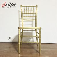 used stacking wedding wooden chiavari chair