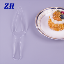 big disposable clear plastic birthday cake cutting knives