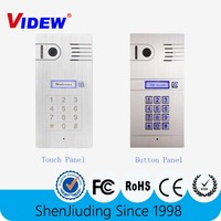 wifi IP video door phone for multi apartment access control system