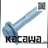 Machine screw hex nut and bolt and assemble fastener