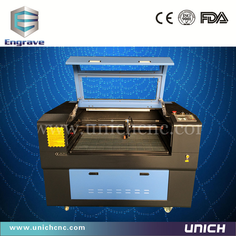 Unich!!!Cost effective and economic mini co2 laser/small laser cutter/marble headstone laser engraving machine