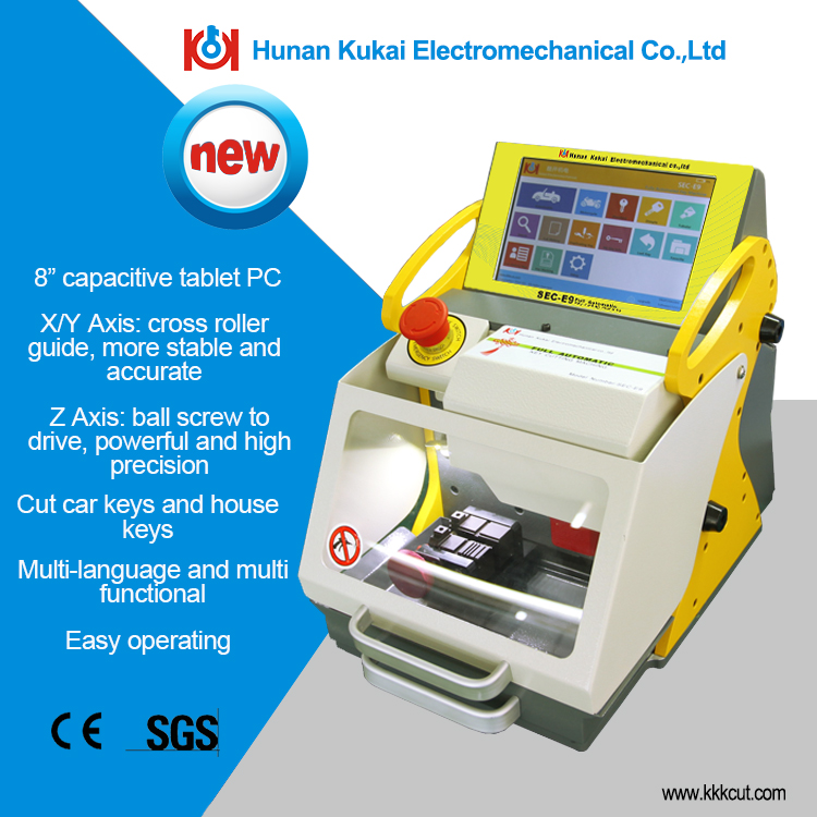 sec-e9 key machine matrix with best quality, for professional locksmith best partner