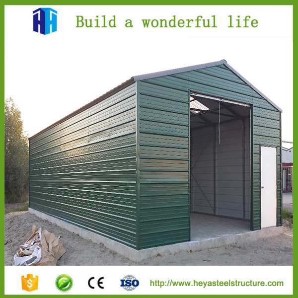 Fabrication steel roof truss onion storage warehouse shed design