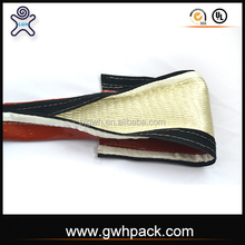 GWH Antipollution fire retardant silicone fiberglass sleeving with VCO
