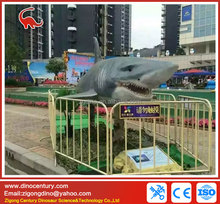 life size rubber animals robot shark for sale