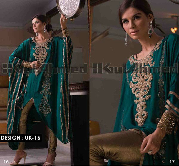 UK-16 (Gulahmed Stitched GPRET Designer Wear 2013)