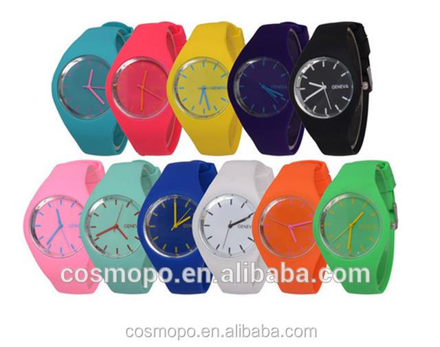 waterproof watch cheap wholesale silicone watch colorful unisex sport silcone watch