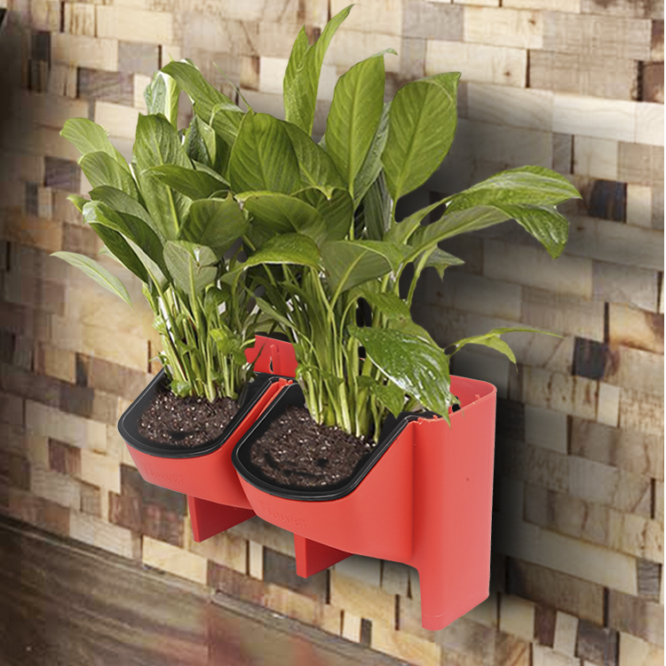 Hydroponics stacking pots vertical gardening DIY planters