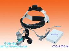 ENT led headlight magnifier medical examination instruments
