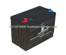 Maintenance Free Black Lid Calcium Battery MF55D23L(12V 60Ah)