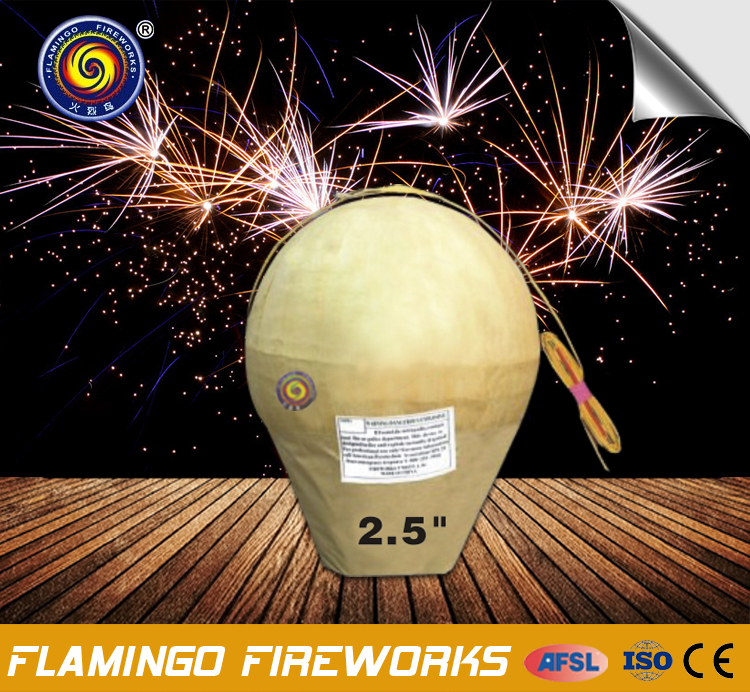 Hot sell fireworks display shells for festivals and celebrations