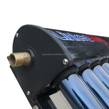 EN12975 Solar Keymark Solar Thermal Panel with 24mm Diameter Condenser Heat Pipe Tube