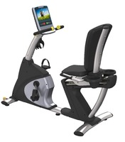 Recumbent Bike with adjustable saddle 2016