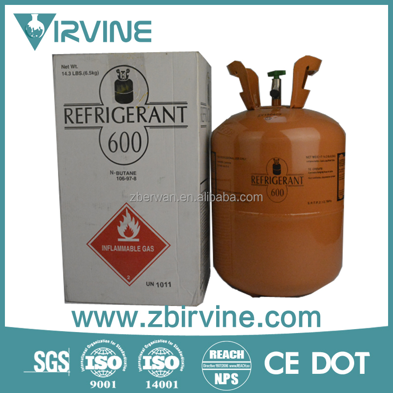 Environmental protected Refrigerant gas R600a