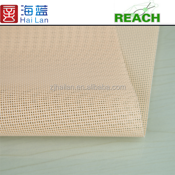 polyester mock eyelet fabric pvc coated polyester fabric wire mesh fabric
