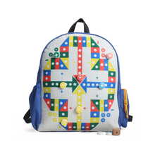 Support the customized kids fancy bags of school bags blue bag for kids
