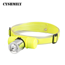 CYSHMILY High Power XM-L T6 Diving Powerful Led Flashlight,18650 Battery Type Diving Headlamp