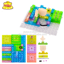 Special magical DIY electronic building blocks toys for kids child educational building blocks Puzzle building brick toys