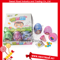 Surprise Egg Toy with Colorful Beans Candy&Nipple Hard Candy