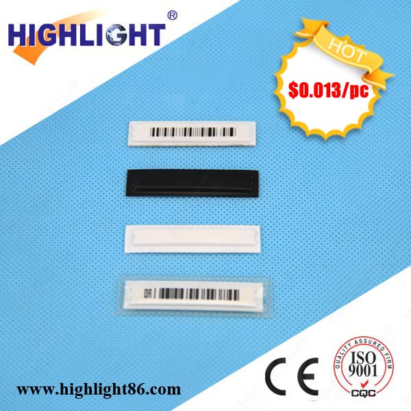 Highlight anti-theft EAS security label deactivable EAS magnetic AM strip security soft label EAS strip