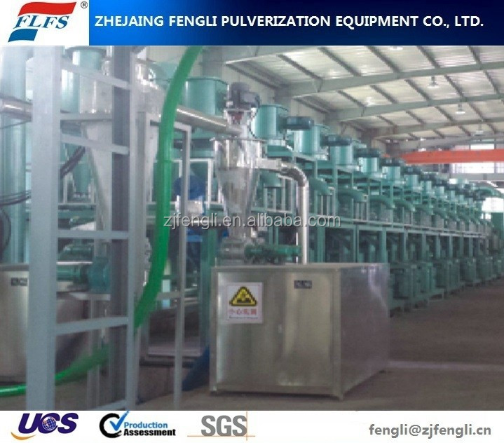 China German Technology QWJ-60 Classifier Fine Pulverizer