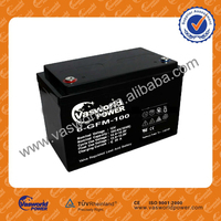 Yuasa Modle 12v100ah seal lead acid battery for solar system