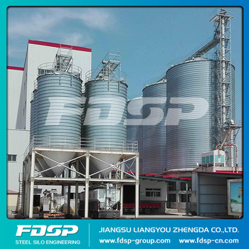 thermal insulation silo,Special steel silo can keep warm