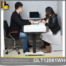 motor drive high quality wooden table with drawers for office and house wholesale
