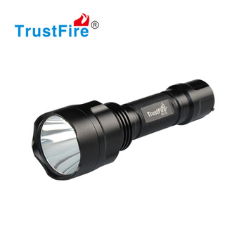 C8-T6 led flashlight, TrustFire led outdoor flashlight 1000LM, hunting green light