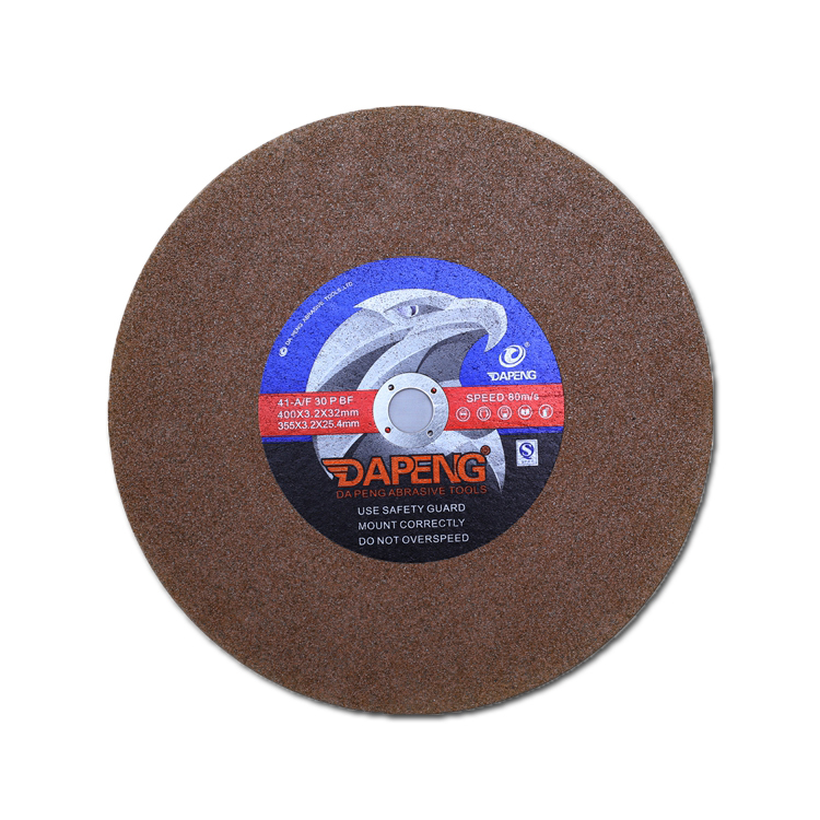 Resin Bonded 12 inch Abrasive Cutting Wheel For Metal/Steel/Iron