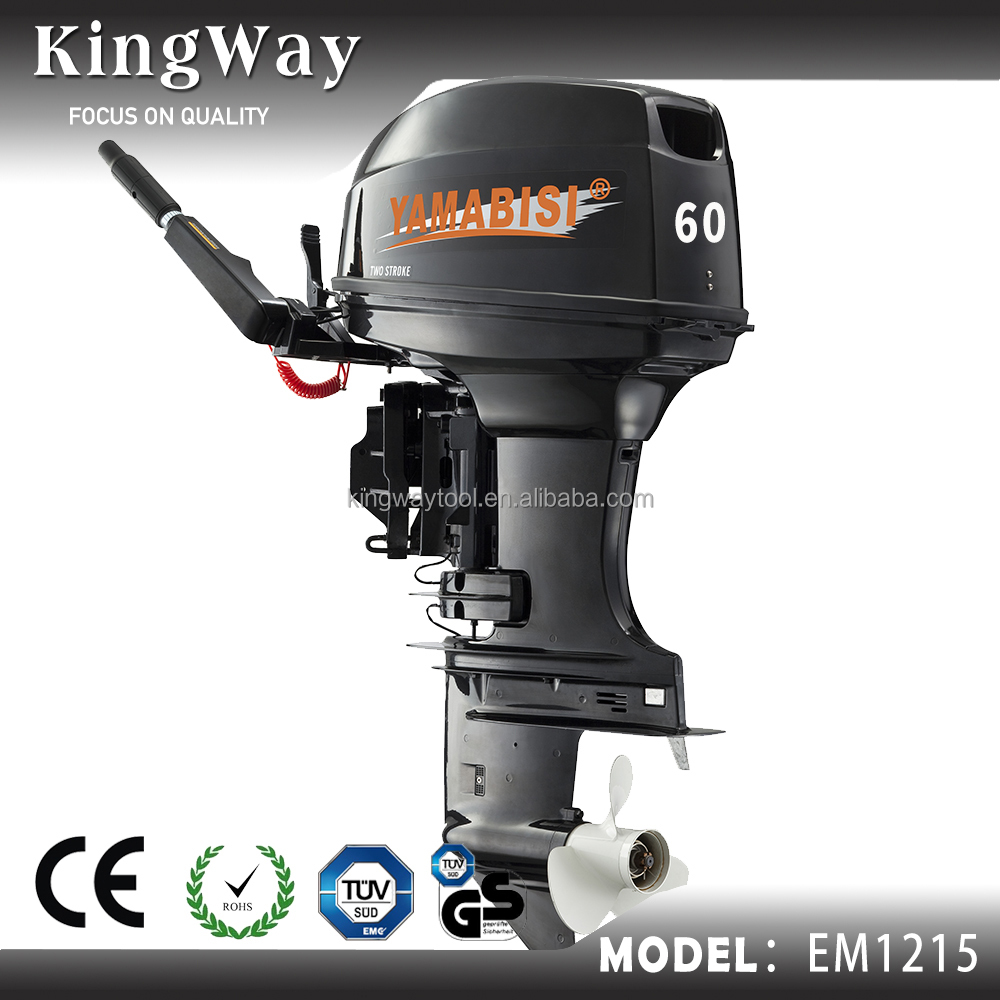 Hot Selling New Model 2 Stroke 60hp Gasoline Outboard Motor