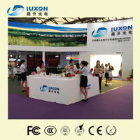 P2.9 high quality fullcolor indoor indoor led TV station display panel with curve inner arc function