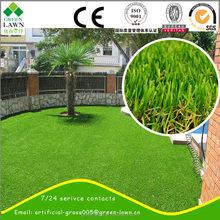 Anti -static landscaping artificial grass 4 tones artificial turf grass for garden decoration