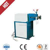 Electric wire reel machine cylinder tube rolling machine embossing machine