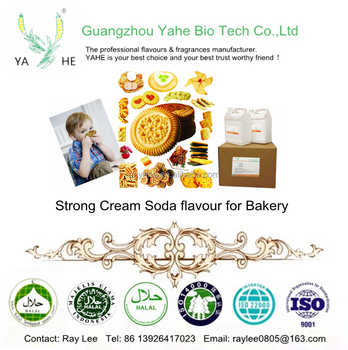 Strong creamy soda flavour high concentrated liquid flavors for bakery with factory outlet price