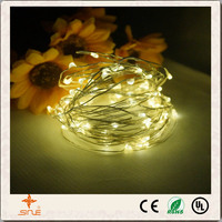 Christmas decorations LED copper wire light series solar Christmas lights string