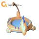 PVC inflatable dinosaurs animal swimming pool for kids