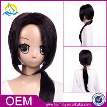 Quality wig black cosply Axis Powers Hetalia China Wanyao synthetic wig