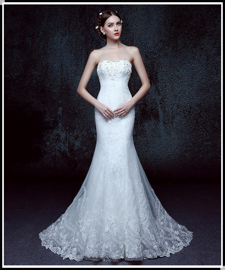 Fishtail Wedding Dress Derby : Wedding dress fishtail buy best lace