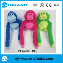chinese new year mascot plush toy blue monkey