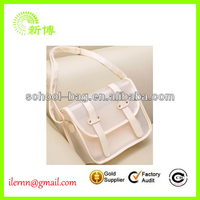 clear cross body pvc female tote bag