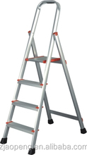aluminum step attic ladder with en131 light and sturdy AP-2354A