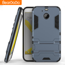 Good quality tpu pc kickstand mobile phone back cover for htc 10 evo case