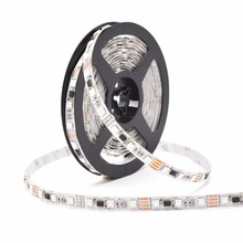 Dimmable 12 volt led light bar 5mm width magic color dmx rgb led strip