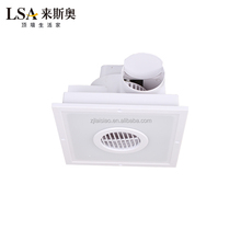 New design ducting type bathroom ventilation exhaust fan with LED light