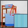 420d oxford blue white stripe fabric
