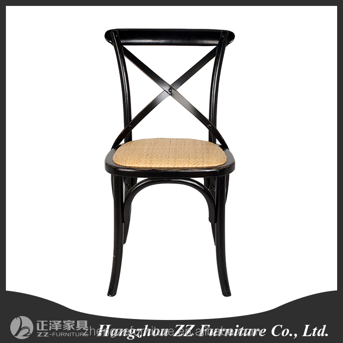 <strong>Antique</strong> wooden cross backX chair