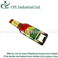 Professional Custom Made Beer Bottle Opener with Magnet