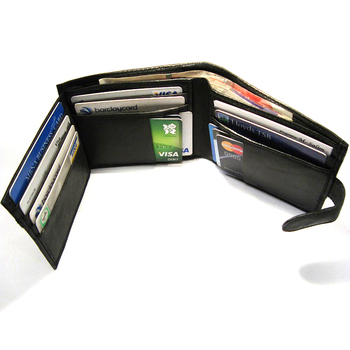 Custom Brand New Soft Nappa Leather credit card wallet ,Mens Leather Wallet