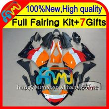 BodyOrange black For HONDA Injection CBR250R MC41 11-13 11CL13 CBR 250R CBR250 R 11 12 13 2011 2012 2013 Red black Fairing